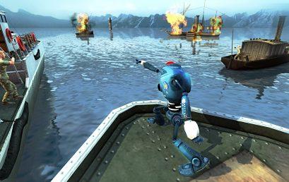 Superhero Underwater Robot 3D