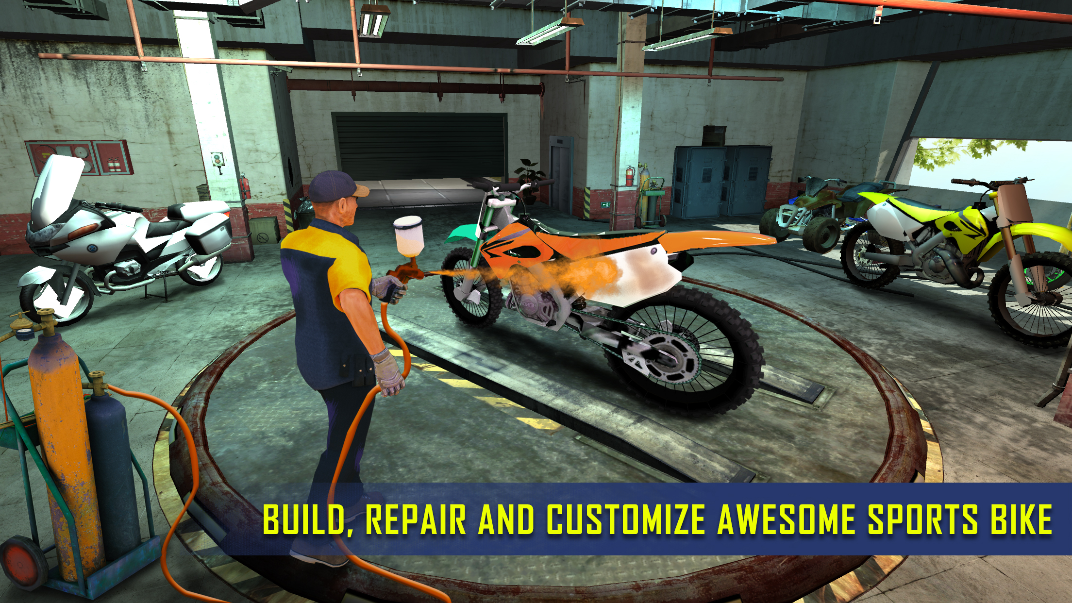Sports Bike Mechanic Workshop