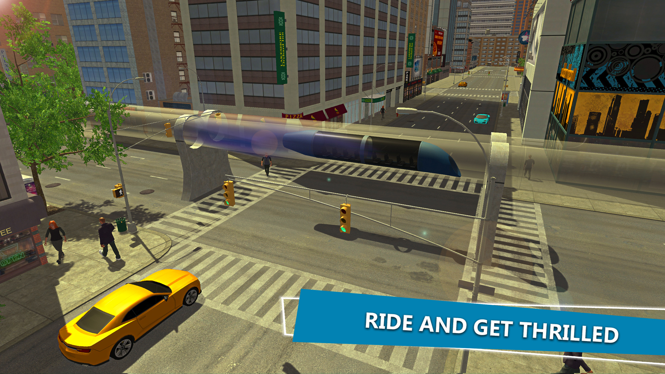Hyperloop Train Simulator 3D